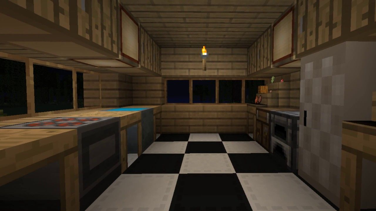 New Ideas Kitchen Decor Minecraft