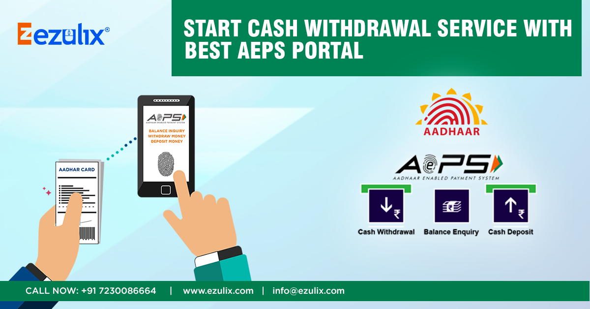 How to Start Cash Withdrawal Service Easily using AEPS ...