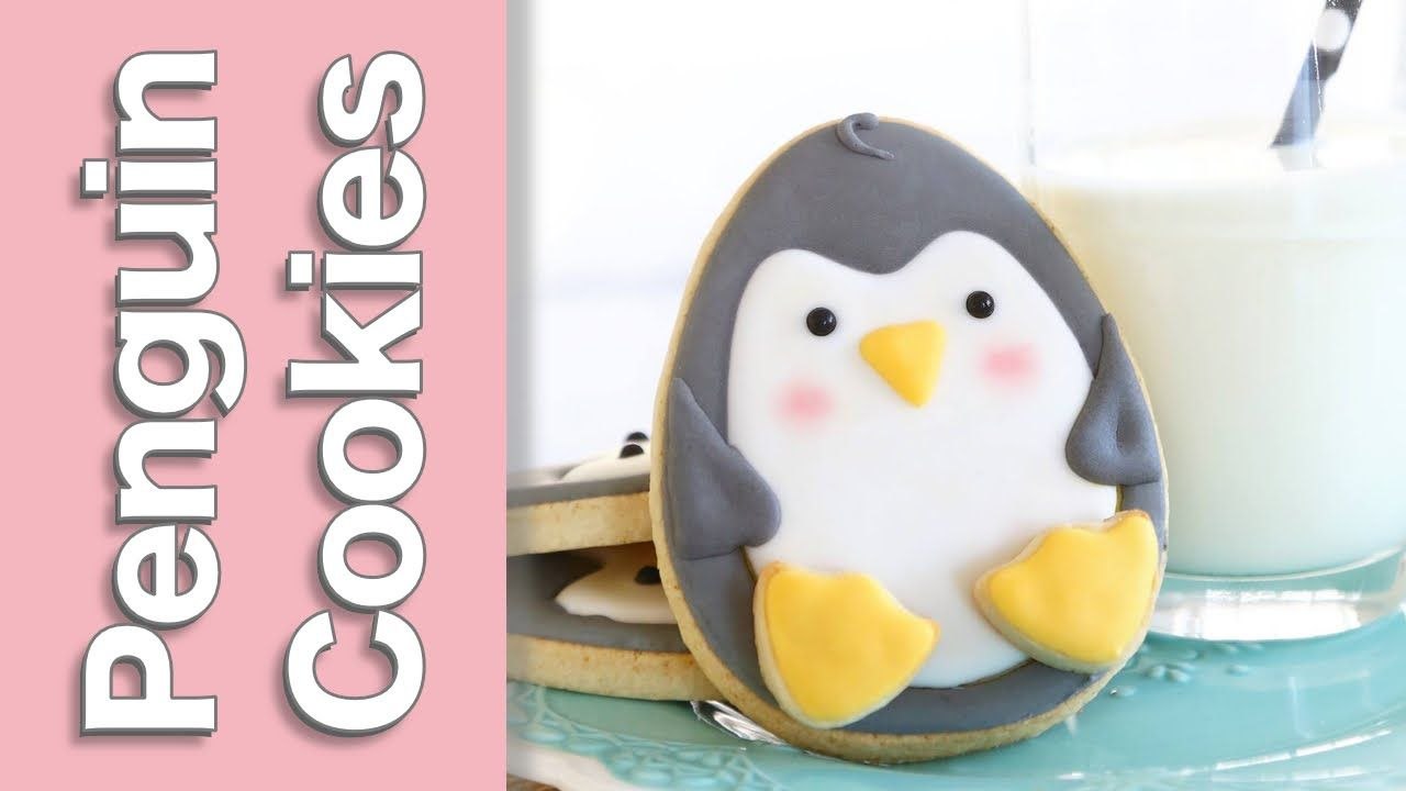 How to make a cute penguin cookie by Montreal Confections   re ...