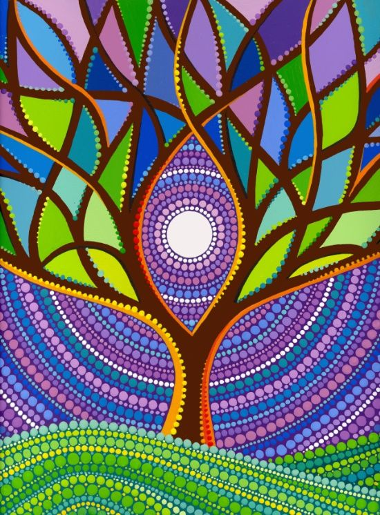 Tree Of Life Art Print Bedding And Or Bedrooms Decorated