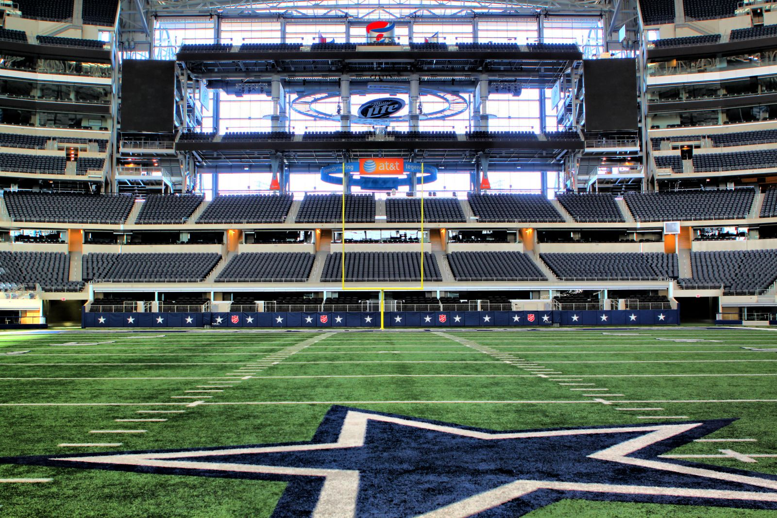 Want To Get On The Field Take A Picture On The Star Take A Tour Of The Stadium Http Attstadium Co Cowboys Stadium Dallas Cowboys Wallpaper Dallas Cowboys
