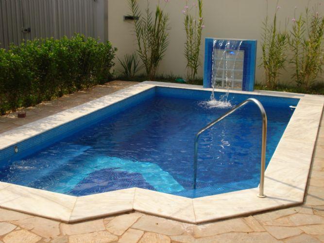 Projetos de piscinas de concreto  pool  Outdoor decor