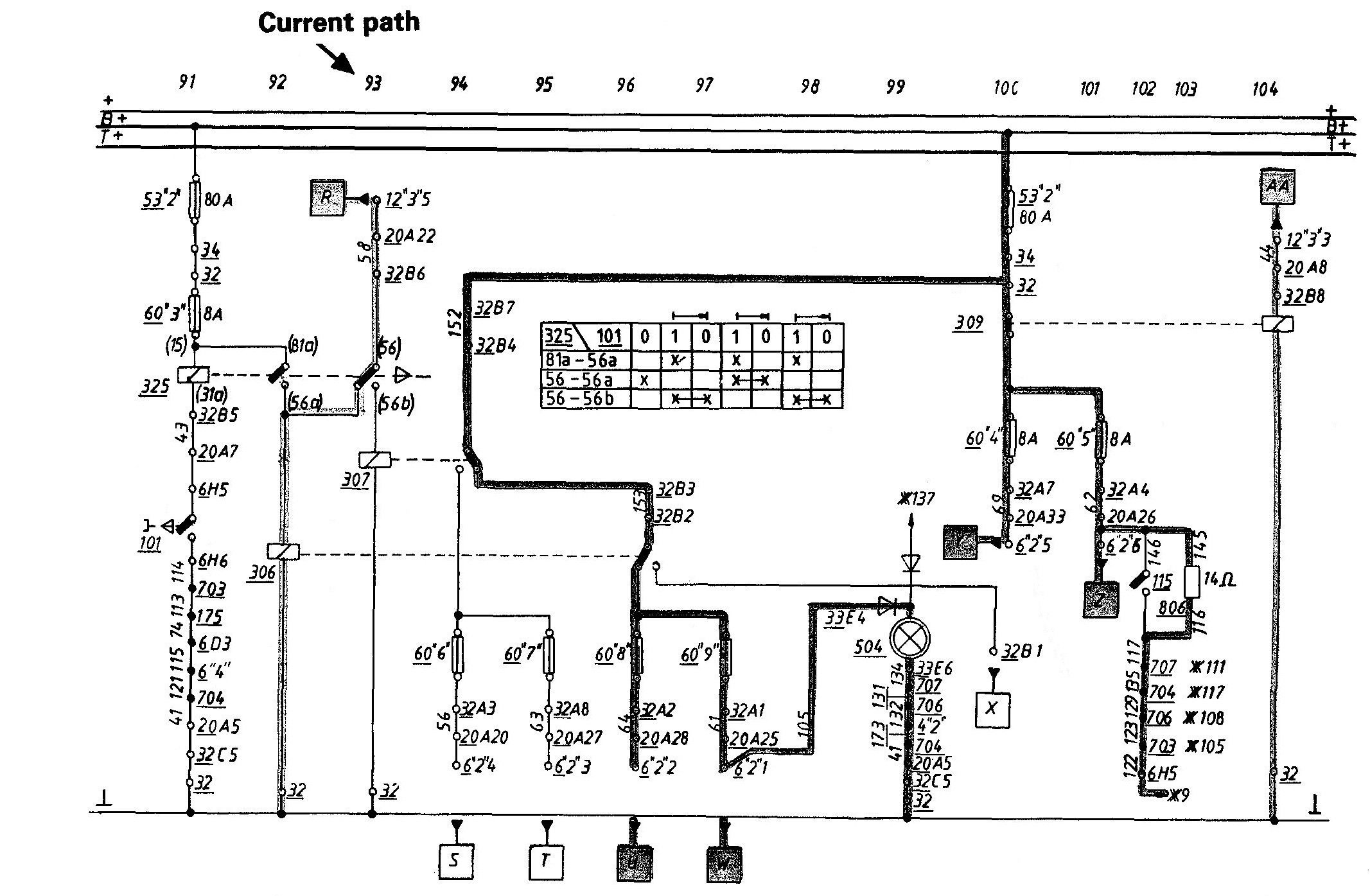 E46 Headlight Wiring Diagram from i.pinimg.com