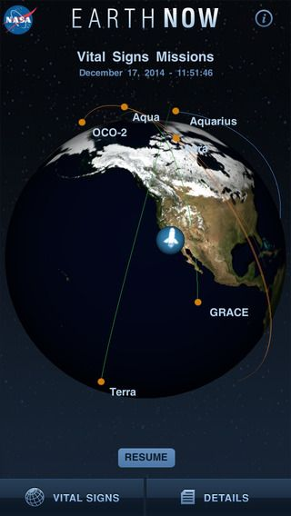 EarthNow By Jet Propulsion Laboratory NASAs Earth Now Is An - Recent satellite images of earth