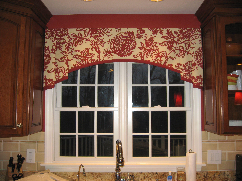 Shaped Valance With Banding Shop Interior Design Interior