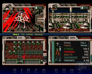 Hired Guns | Amiga Games - Gameplay (hol abime net) | Games