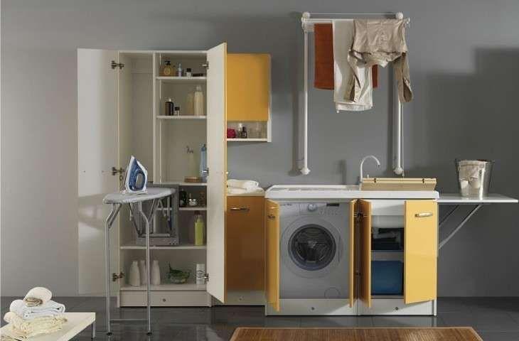 Mobili componibili per lavanderia lavanderia