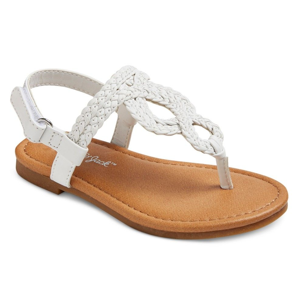 NWT Gymboree Jump Into Summer Silver Star Sandals Shoes Girls Size 9