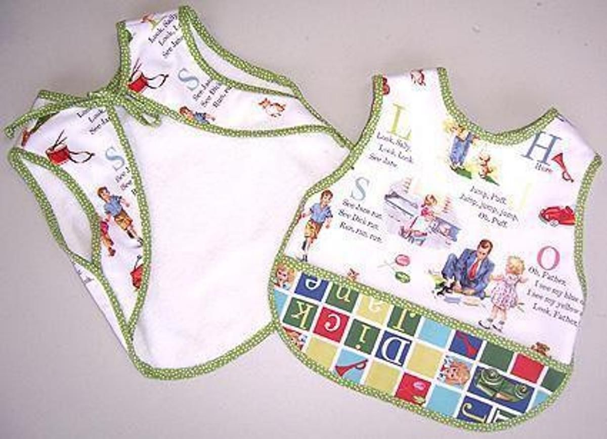 Fabulous Fifties Bib | BIBS | Baby bibs patterns, Bib