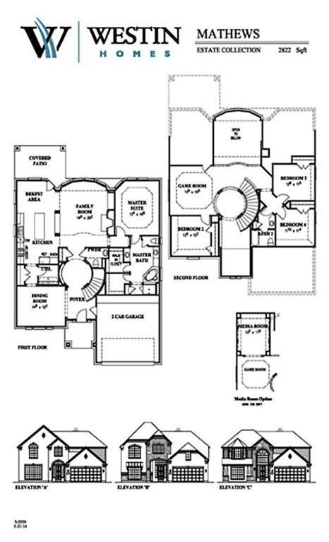 Westin Homes Floor Plans