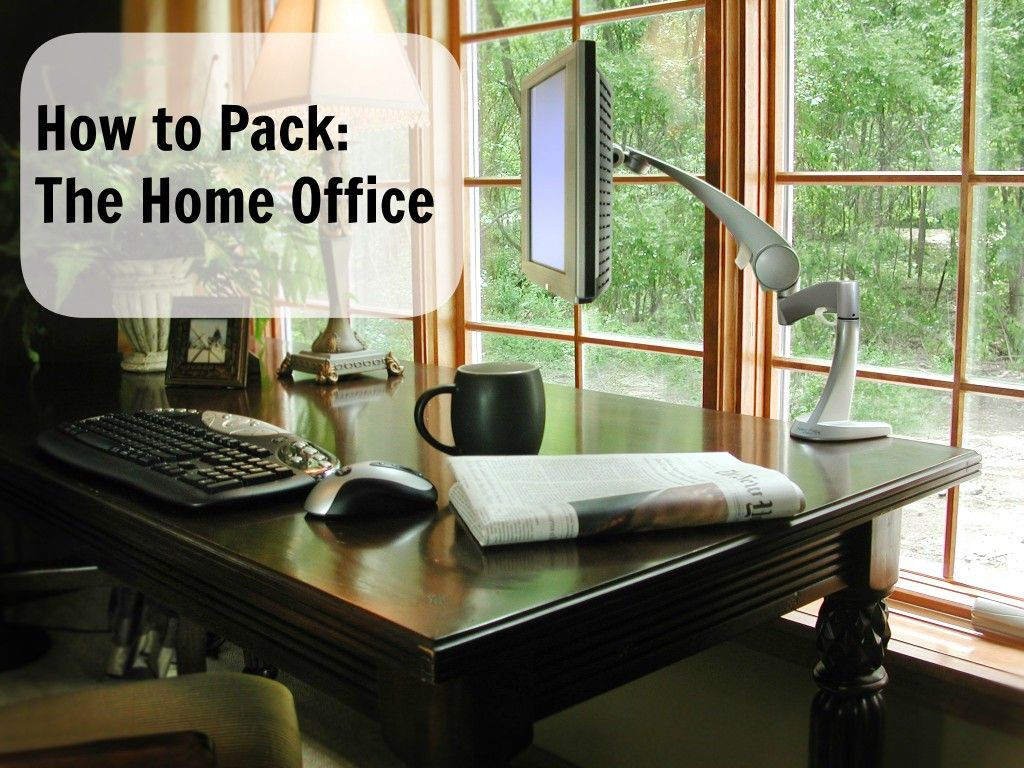 More in our how to pack series this week the home office donut be