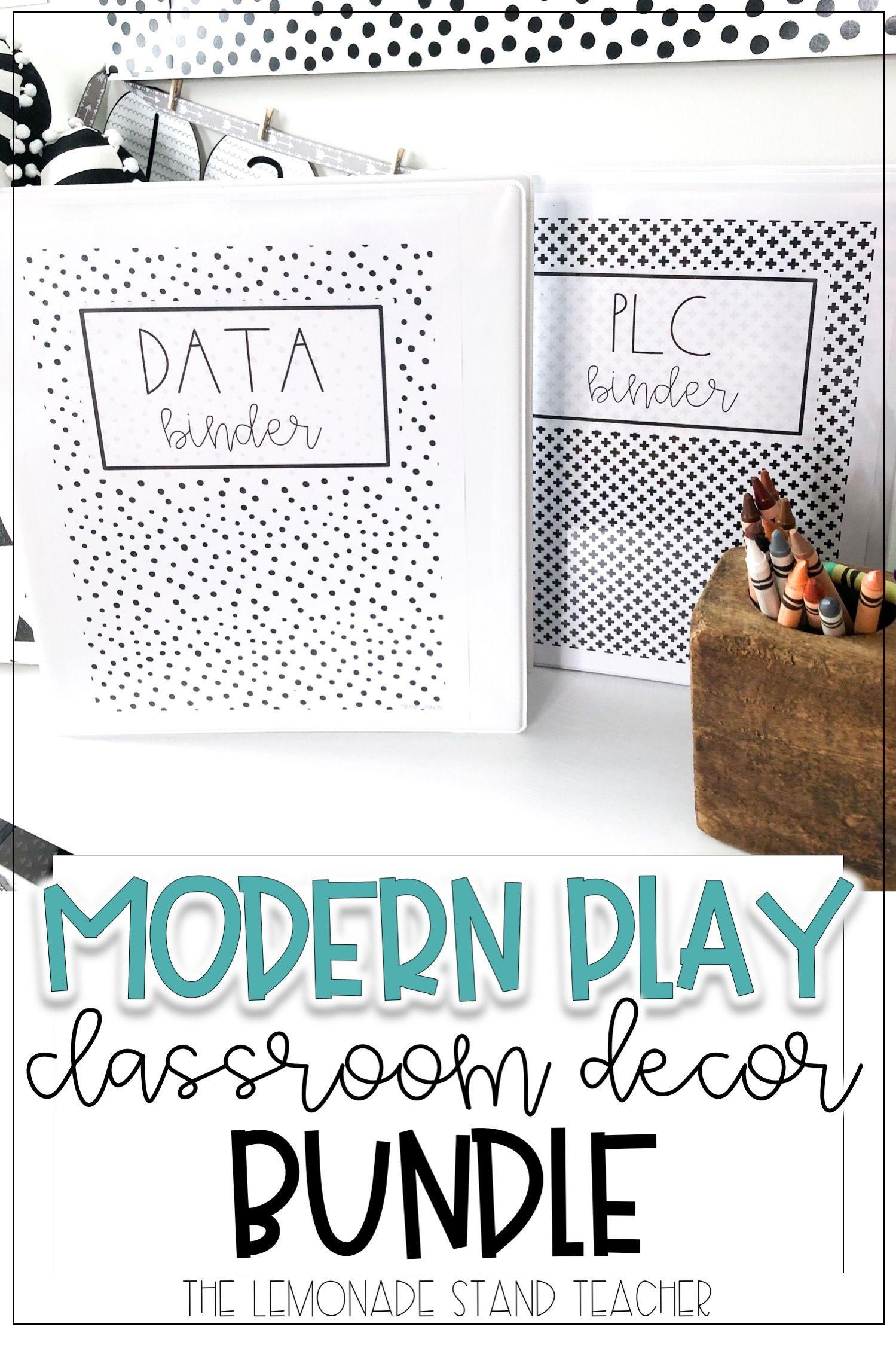 Modern Play Classroom Decor