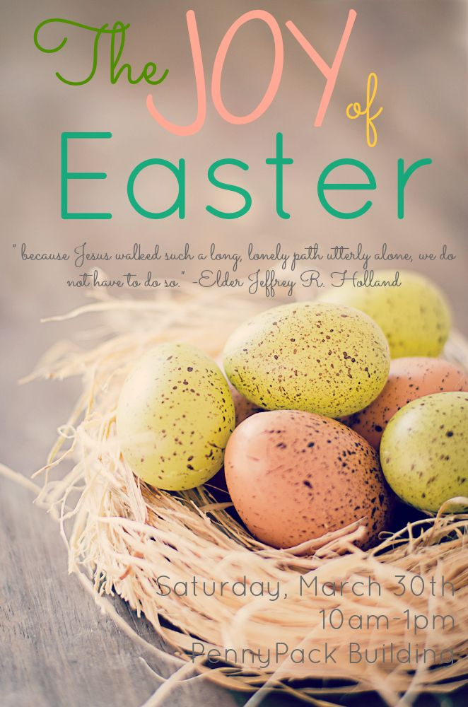 Easter Sunday The Joy Of Easter Happy Easter Sunday Lds Easter