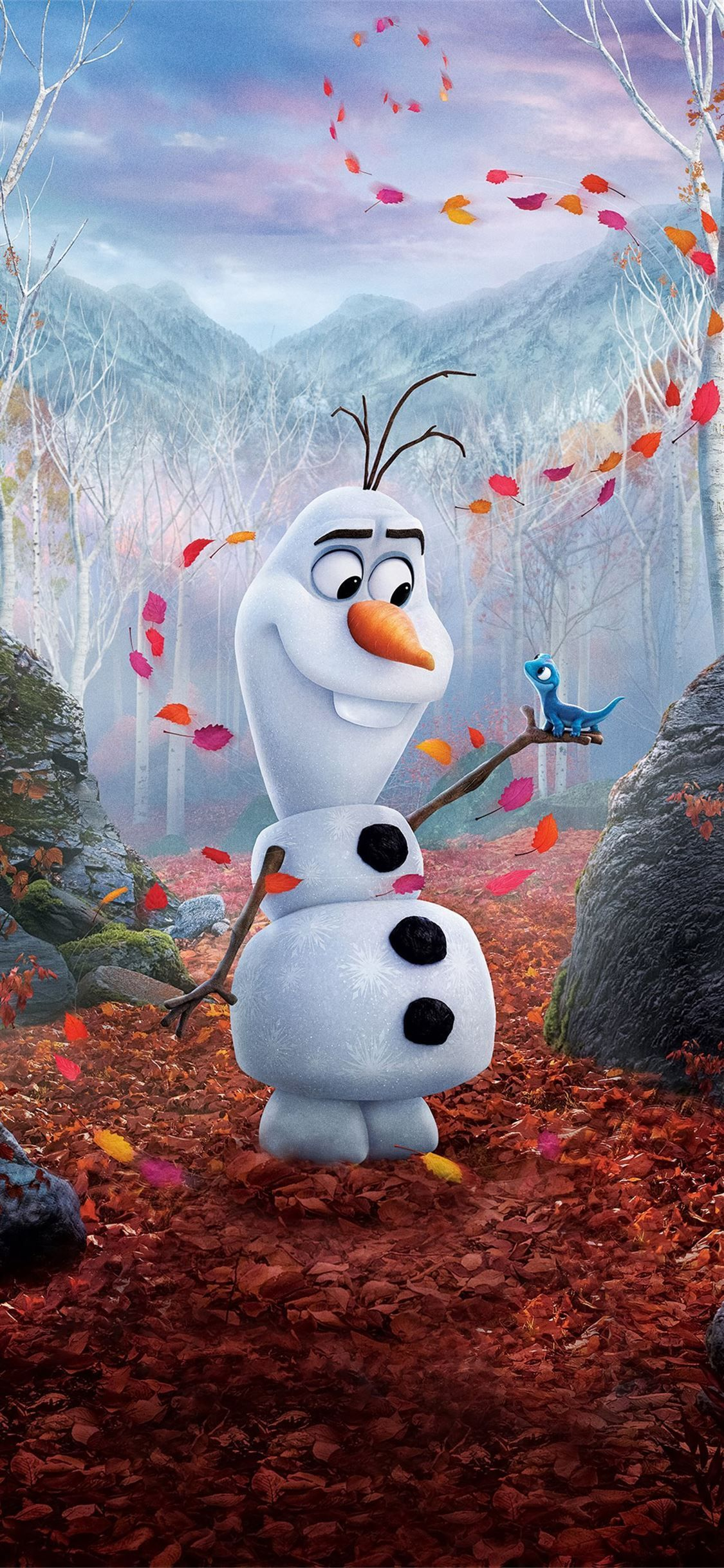 Pin On Iphone 11 Wallpapers Olaf Wallpaper Iphone Disney Olaf Quotes