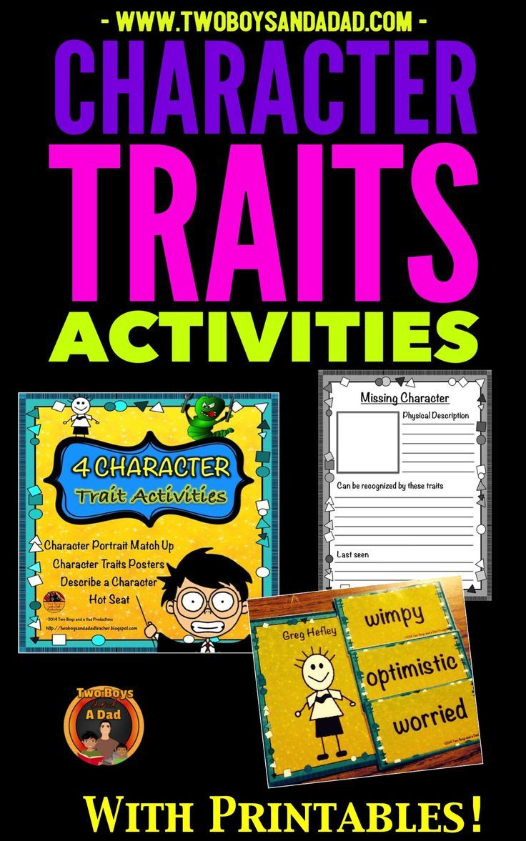 Character Traits Practice With 4 Activities And Worksheets Teaching Character Character Trait Character Traits Activities [ 1177 x 736 Pixel ]