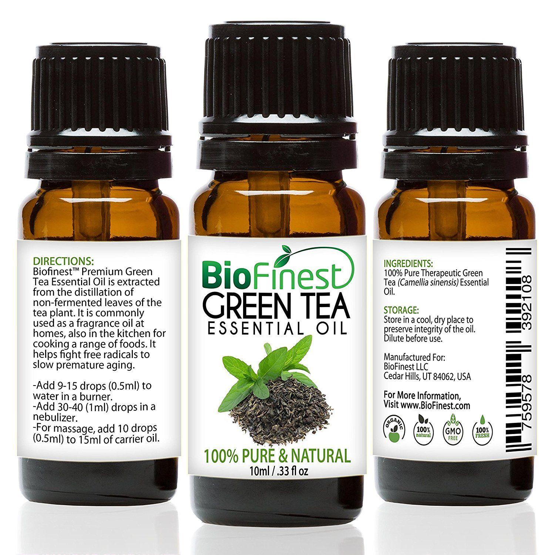 biofinest green tea oil 100 pure green tea essential oil