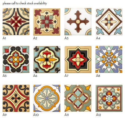 mission tile west spanish style bathrooms