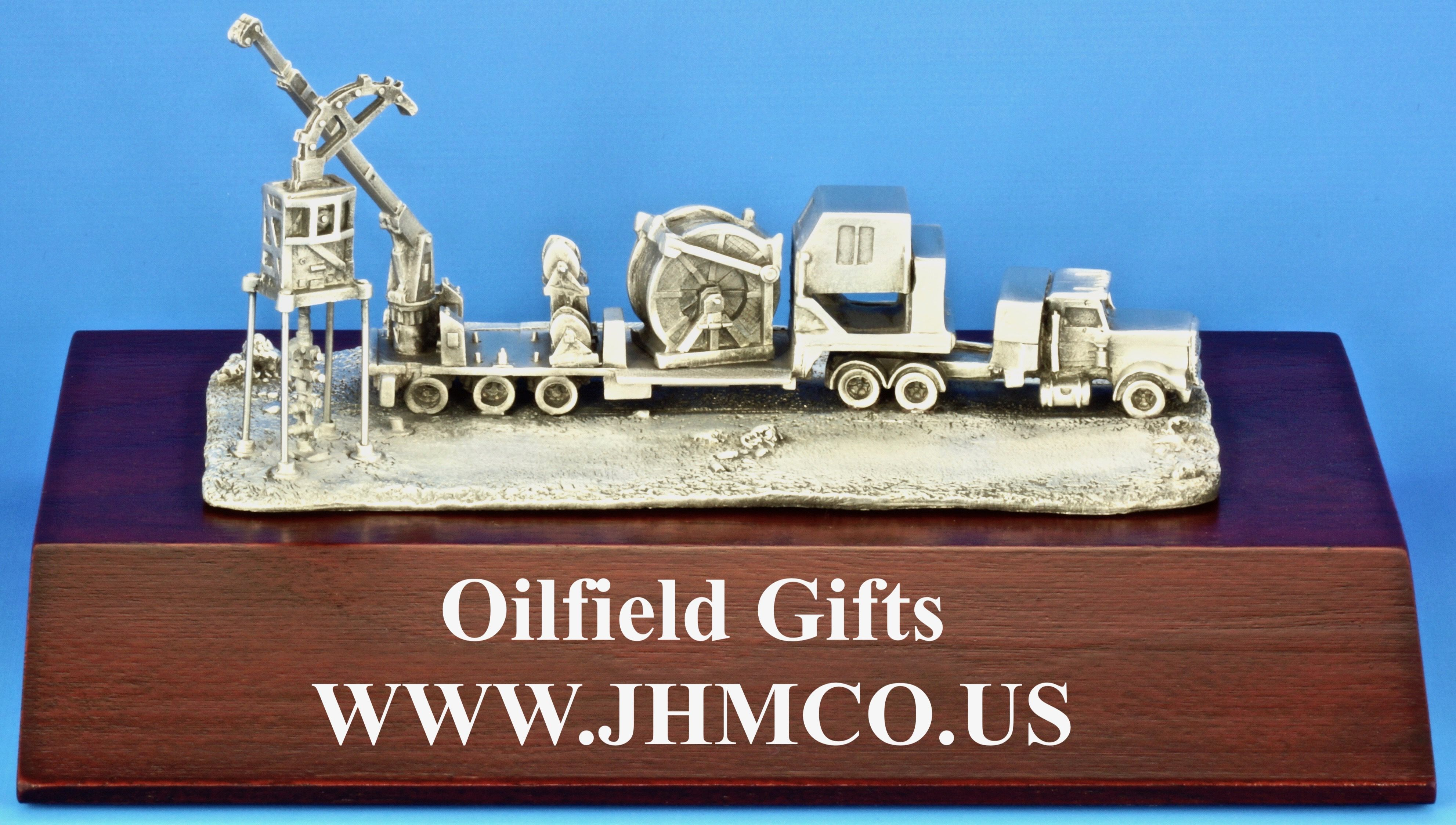 Coiled Tubing Rig Model Oilfield Gift For Oil And Gas Industry Workers John H Martin Company Since 1937
