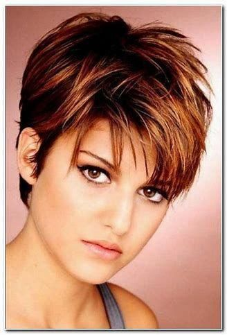 image result for plus size short hairstyles for round