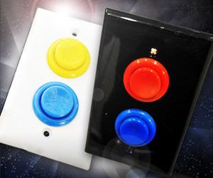 Geek up any room in your home with these stylish and functional arcade light switches that convert your boring switches into retro arcade machine style buttons. Outfitting your home with these unique light switches will not only add a geeky retro touch, but also take you on an enjoyable trip down memory lane when arcade…