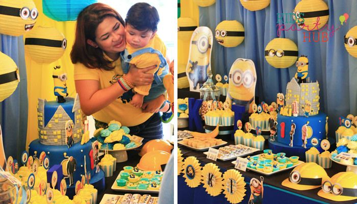 Despicable Me Minions Flight to the Moon Themed Party Stephens
