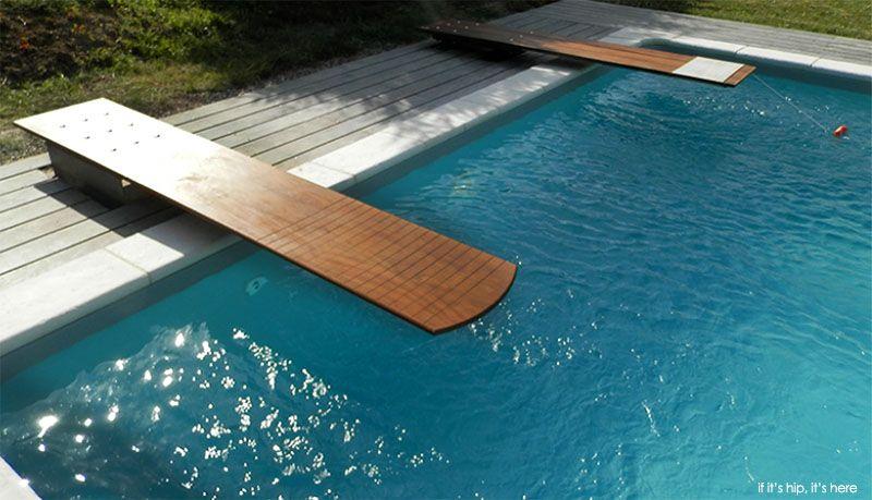 Custom Wood Diving Boards Handmade By Mikel Tube Luxury Pools Diving Board Diving Boards