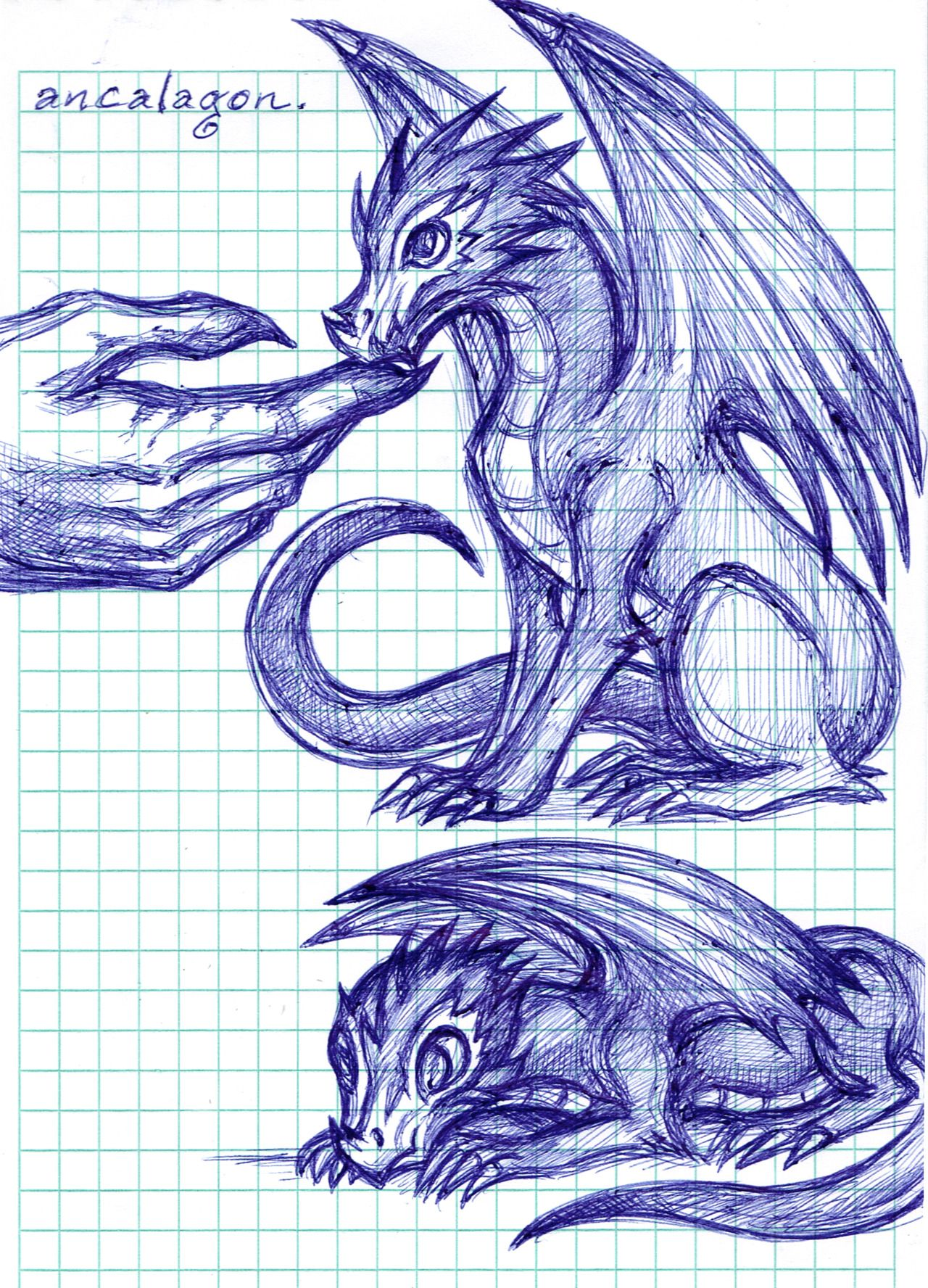 Baby Ancalagon Doodles For Smaugust Feat Morgoth S Scarred Hand I Was Left Alone With Som Graph Paper Drawings Geometric Pattern Art The Magic Faraway Tree