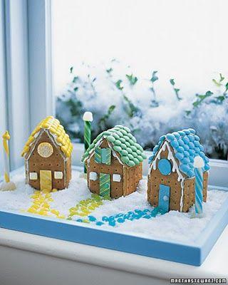 Miniature Ginger Bread houses