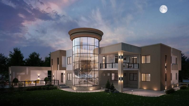 5 bedroom House Plan, 8000sqft house plans, 5 bedr