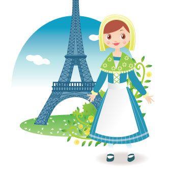 Resultado de imagen de traje tipico de francia for Tipico de francia