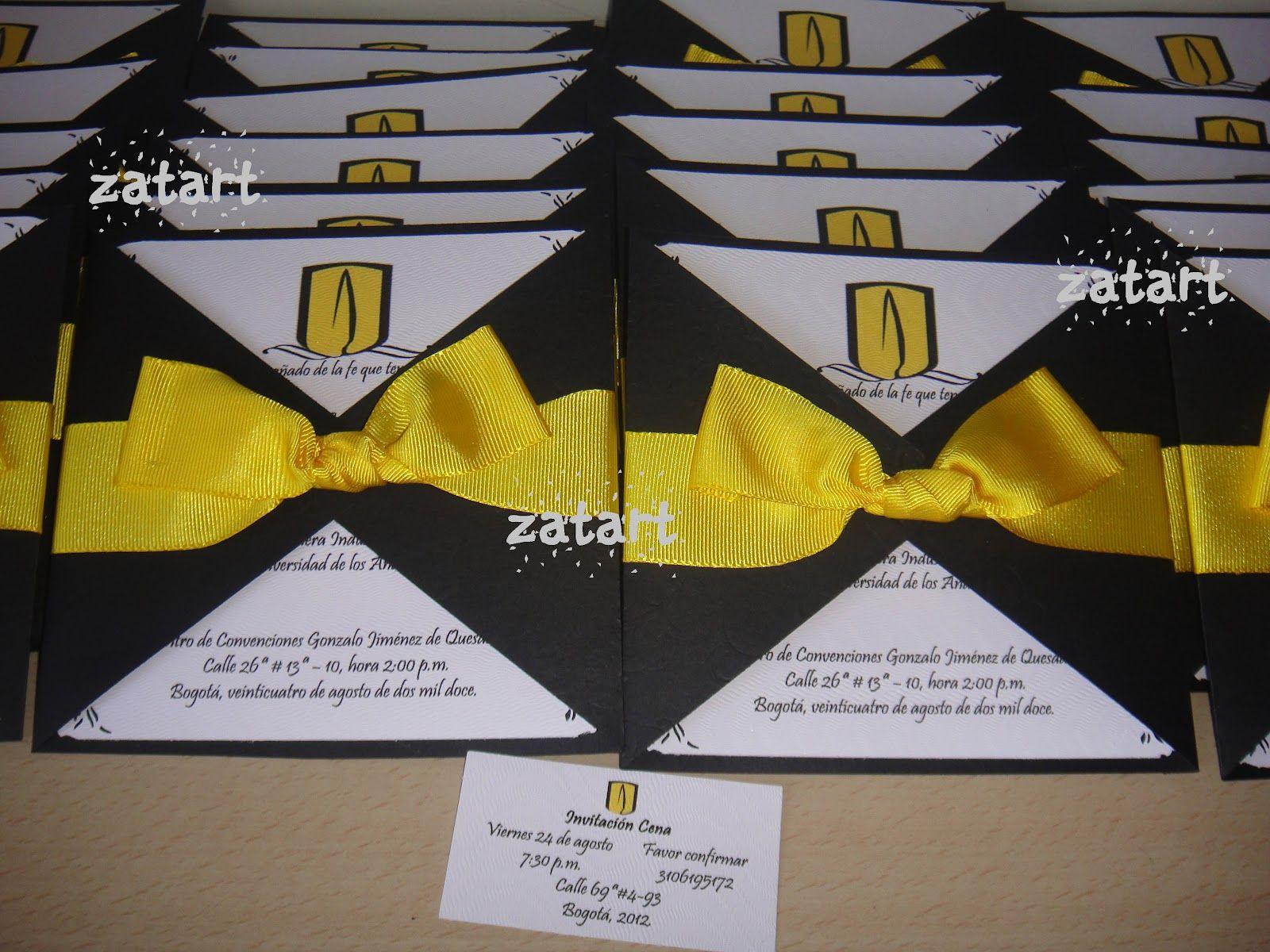 Resultado de imagen para invitaciones de grado casita for Decoracion grado universidad