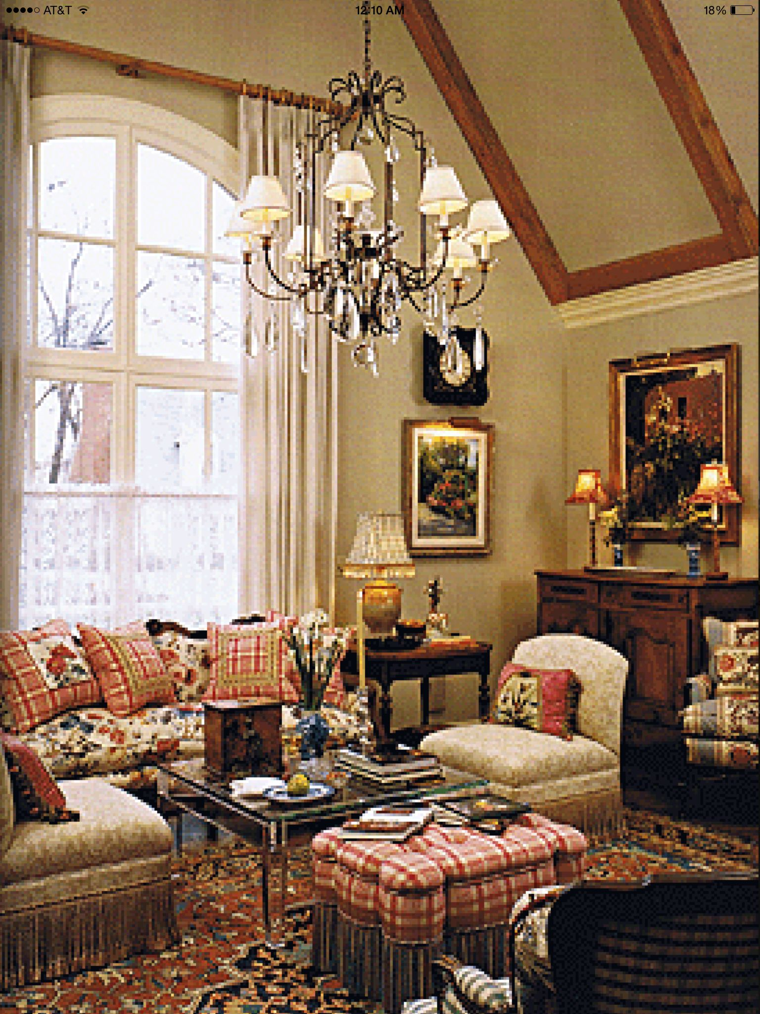 Country Home Interior Design: Country French Decor