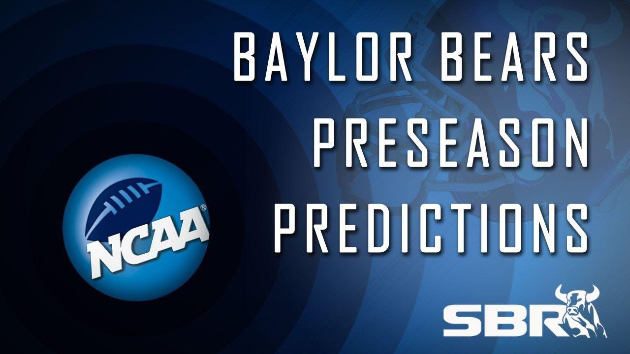 Baylor bears preseason predictions 201415 college