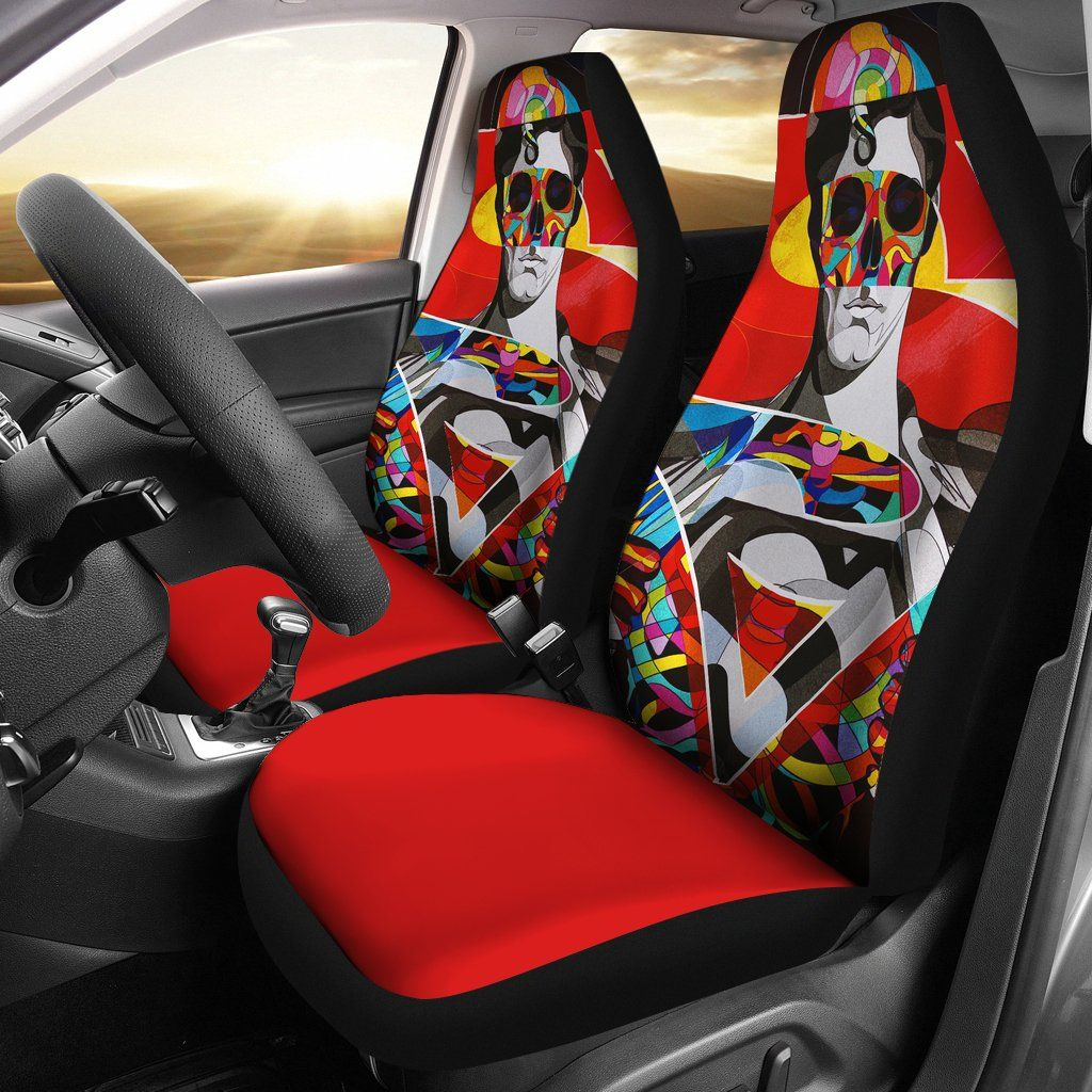 Superman Car Seat Covers 1