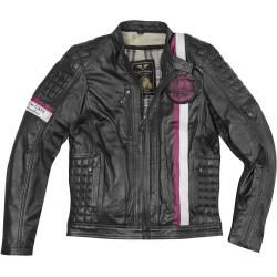 Photo of Black-Cafe London Barcelona motorcycle leather jacket black 60