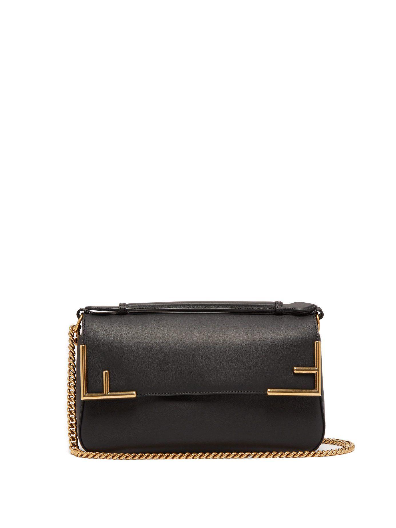 6cf41ea920ce Double F leather baguette bag