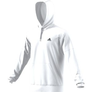 Adidas Men s Team Issue Fleece Pullover Hoodie White  6d9959504