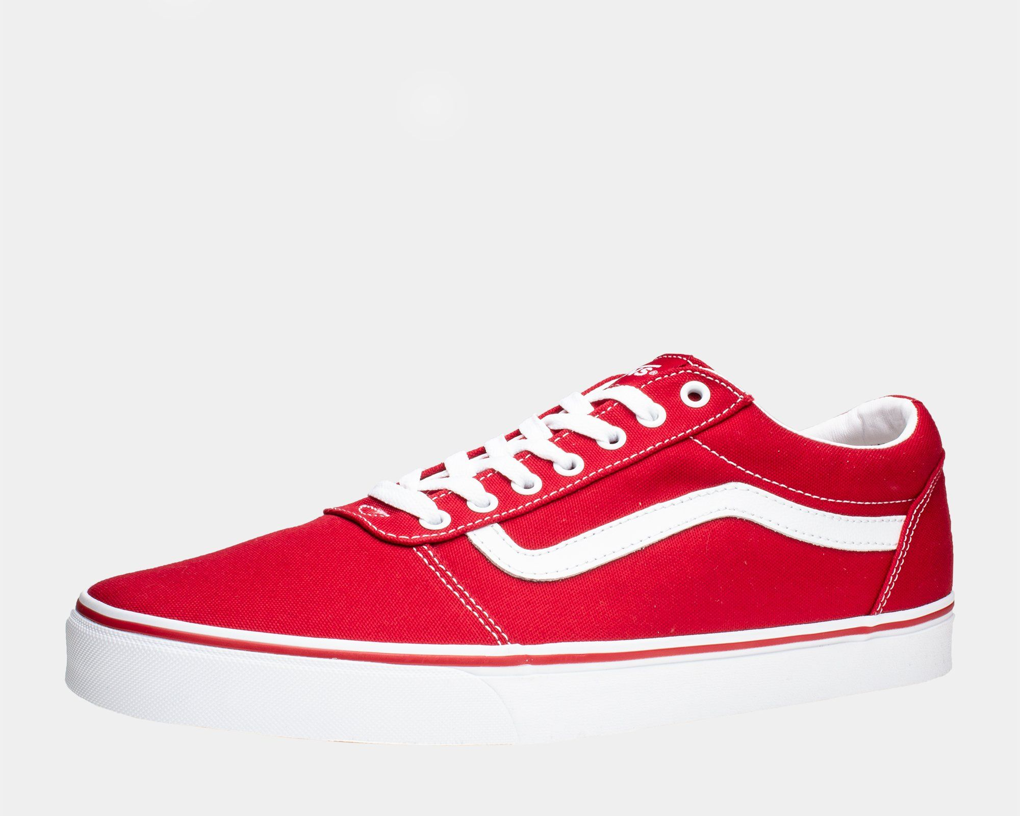 vans ward canvas rojas