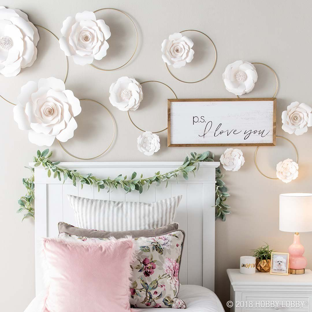Dainty And Darling Paper Flowers Are The Easy Update Staple Your