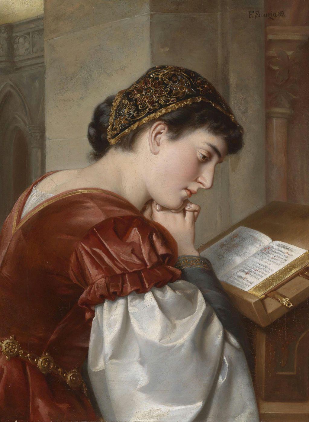 АРТ АРТель про искусство - Живопись -*Читающая женщина таинственней.....*