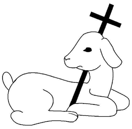 Christian Symbols Judaism Believed The Lamb Was Anoffering Christians Think Of Jesus As Christian Symbols First Communion Banner Catholic Symbols