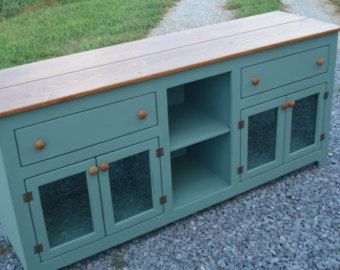 Sideboard Etsy Furniture Sideboards And Buffets Entertainment Center Media Console TV