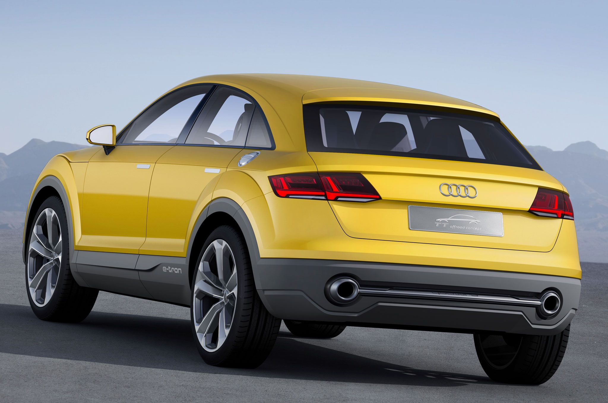 Report Audi Ttq Will Be Production Version Of Tt Offroad Concept