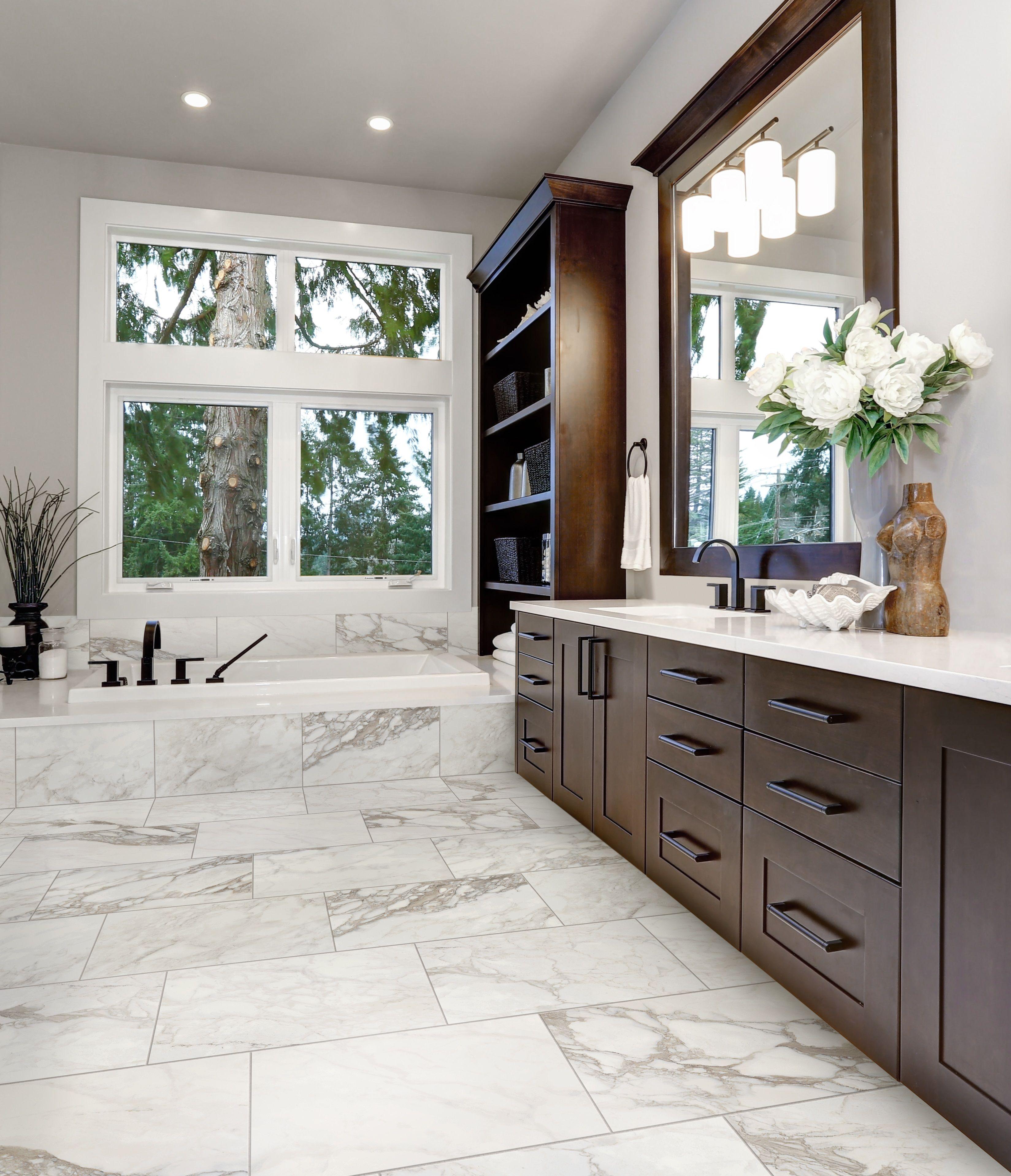 Marble Look Tile Tile Floor Marble Look Tile Decor Interior Design