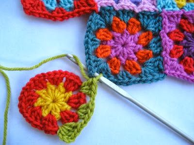 Granny Squares Aan Elkaar Haken Joining Granny Squares As You Go