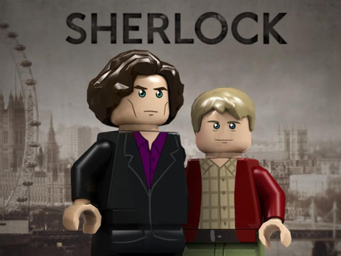 Sherlock Holmes and his cohorts may one day make fine Lego minifigs. Lego is reviewing the possibility, along with six other Winter Lego Review qualifiers.