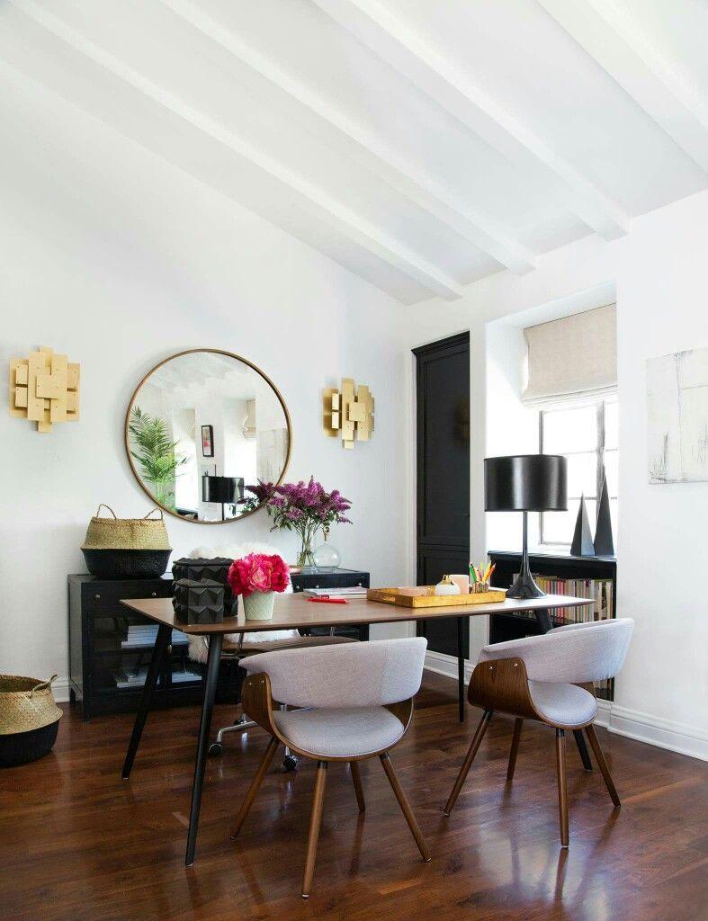 Bureau moderne maison conception de salle à manger salles à manger