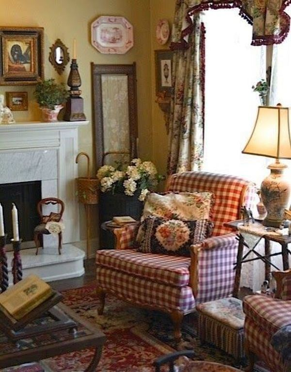 English Living Room Decor 27 English Cottage Decor Country