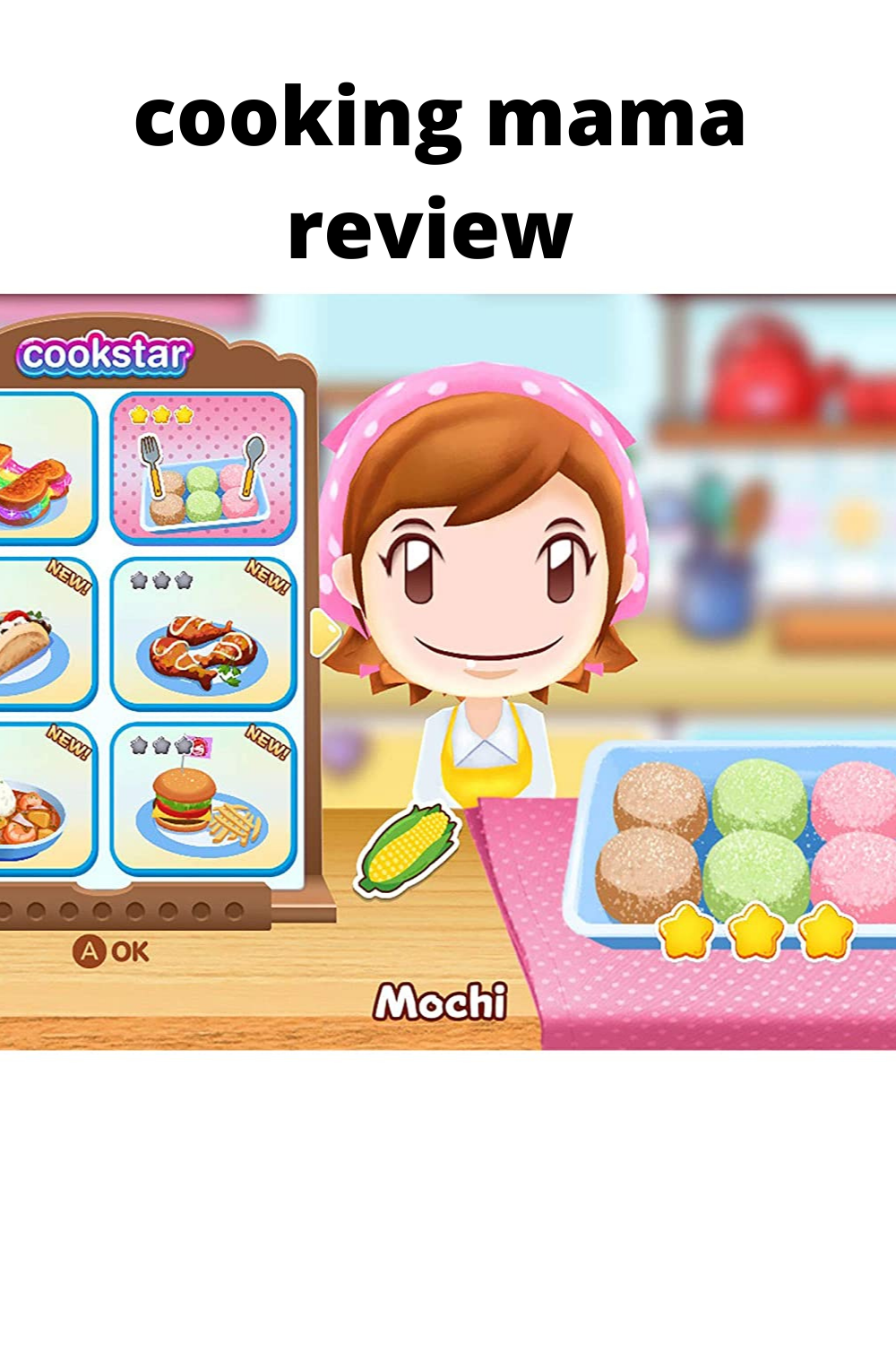 cooking mama review Cookstar, (2020) Nintendo Switch in