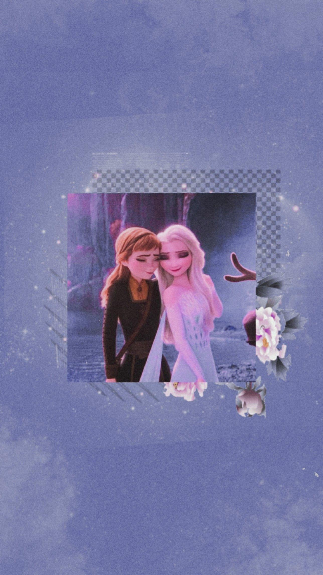 Wallpaper Lockscreen Frozen Di 2020 Gambar Wajah Putri Disney Kartun Disney